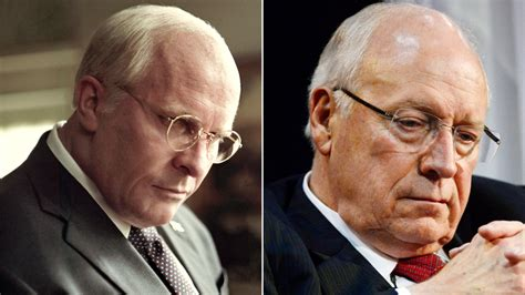christian bales incredible dick cheney transformation