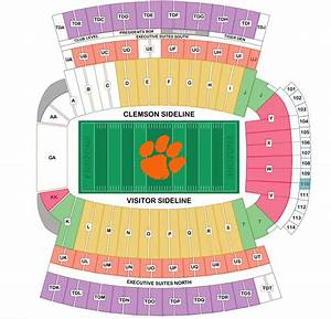 27 Clemson Football Parking Map 2018 Maps Online For You