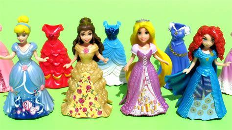 Princesas Disney Set De Magiclip Bella Rapunzel Cenicienta