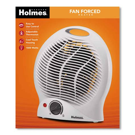 forced air fan holmes hfh113 um compact heater fan at holmesproducts com