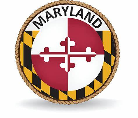 Vector files are available in ai, eps, and svg formats. Royalty Free Maryland Flag Clip Art, Vector Images ...