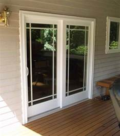 Sliding Glass Patio Doors French
