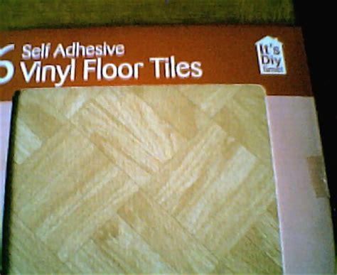 Interlocking floor mats: Poundland Self Adhesive Floor Tiles