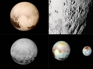 Nine fresh close-up pictures of Pluto released by NASA ...