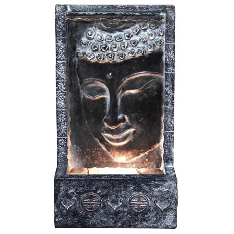 wall mounted heating and cooling alpine buddha wall with light zen204 the home depot
