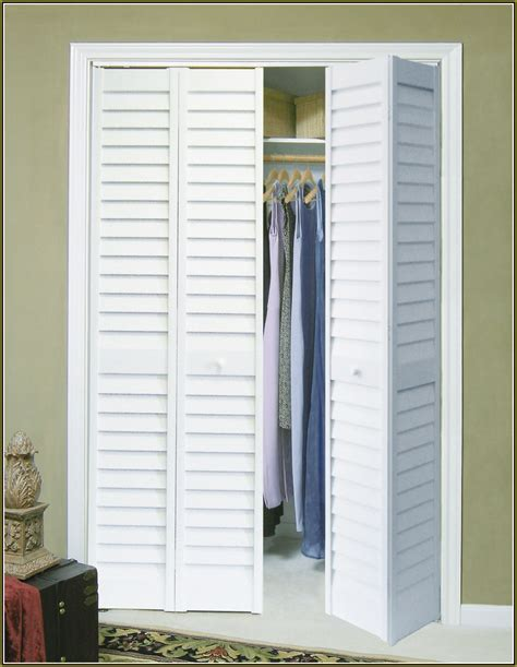 closet bifold doors home design ideas