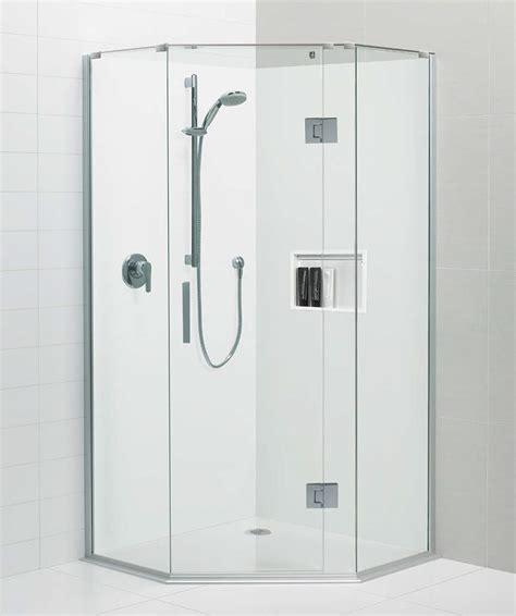 black pearl white acrylic shower base atlantis bathroom
