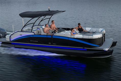 Xcursion Pontoon Boat Accessories by Ohio Pontoons Largest Sylvan Pontoon Boat Dealer In Ohio