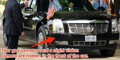 s cadillac the beast is more like thank than car the beast president s limo business insider