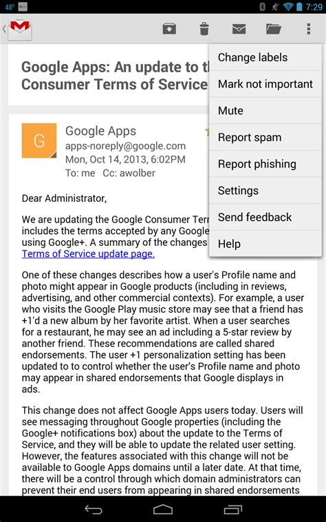 email print tip print an email from an android device