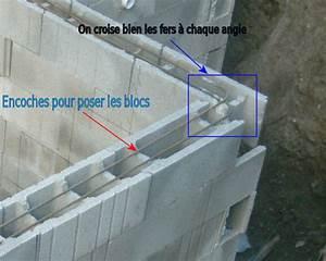 comment construire une mur en en blocs a bancher With maison sans mur porteur 10 comment construire un mur en parpaing leroy merlin
