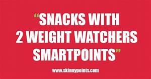 Weight Watchers Smartpoints Berechnen : skinny points recipes snacks with 2 weight watchers smartpoints ~ Themetempest.com Abrechnung