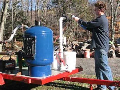 syngas electric generator start  youtube