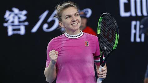 Când se joacă Simona Halep - Sophia Kenin în turul 2 la Australian Open 2019