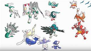 MAJOR Pokemon Sun and Moon Leaks (SPOILERS!) All In One ...
