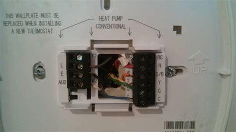 Installing New Thermostat Honeywell Mycoffeepot