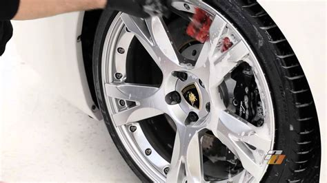 How To Wash Car Wheels And Tires Demonstration