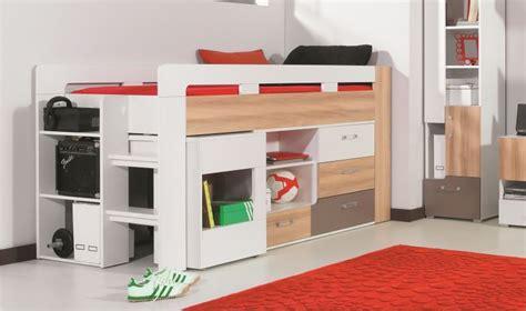 chambre combiné lit avec bureau et commode puzzle lit combin enfant et