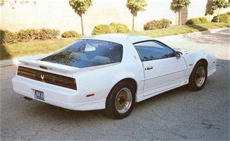 how does cars work 1989 pontiac firebird user handbook 1989 pontiac firebird 20th anniversary trans am