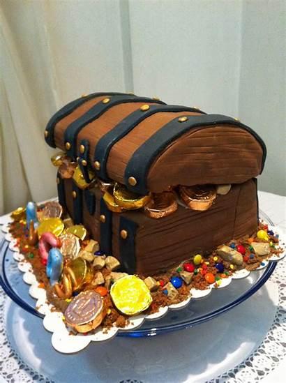 Treasure Chest Birthday Cake Cakes Decoration Littlebcakes
