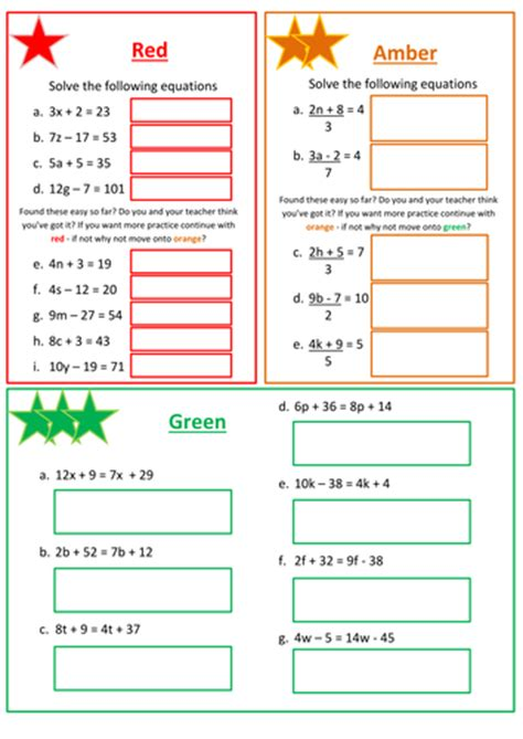 solving linear equations worksheet by mrbartonmaths teaching resources tes