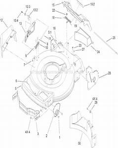 Toro Recycler 22 Parts Diagram