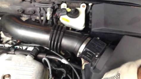 ford focus  changing pvc valve due  error code p