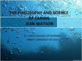 Jean Watson Caring Theory Quotes