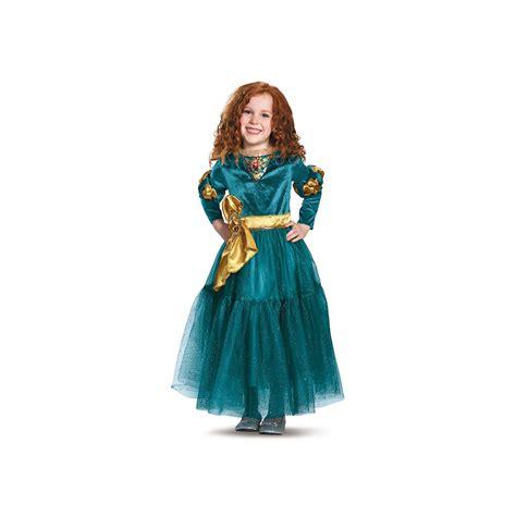 Details about Children Brave Merida Princess Dress Up for ...