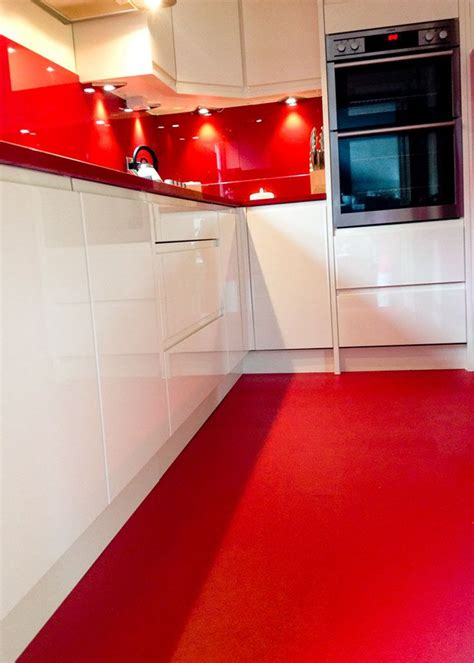 Sangria Red  Your Fabulous Floors  Kitchen Flooring