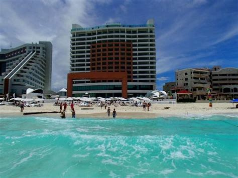 View from the waves   Picture of Beach Palace, Cancun   TripAdvisor