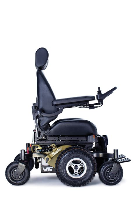 frontier v6 all terrain electric wheelchair magic mobility