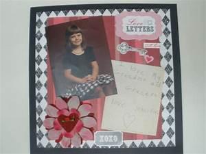 love letters scrapbookcom scrapbooking ideas pinterest With love letter scrapbook