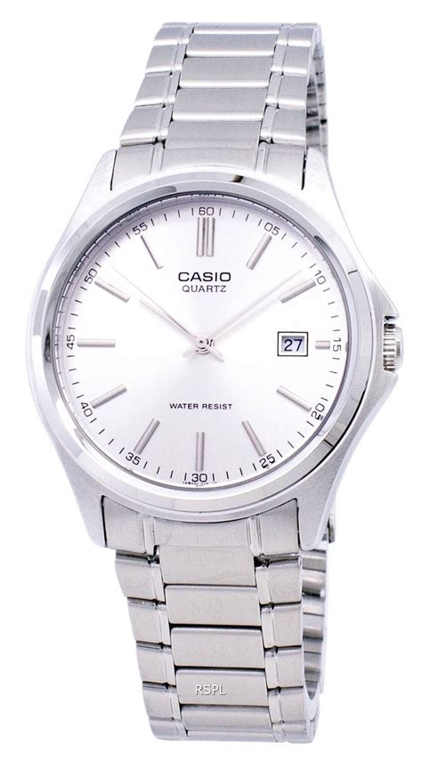 Casio Quartz Mtp 1183a casio quartz analog stainless steel silver mtp 1183a