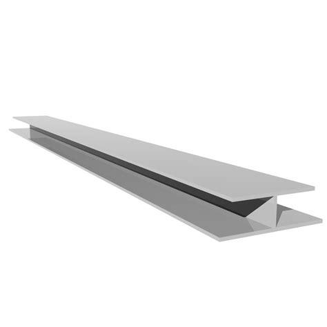 profil de jonction h blanc pvc l 3 m leroy merlin