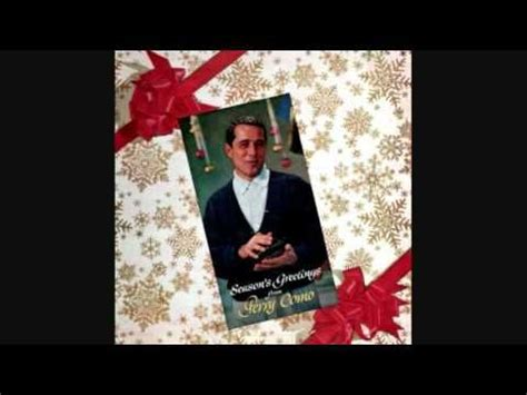 perry como singing o holy night perry como christmas songs love it to this day music