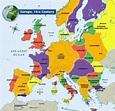 Europe, 14th Century   Europe map, European history, Map