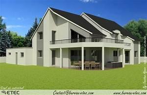 Maison En L Moderne : maison contemporaine beaune ~ Melissatoandfro.com Idées de Décoration