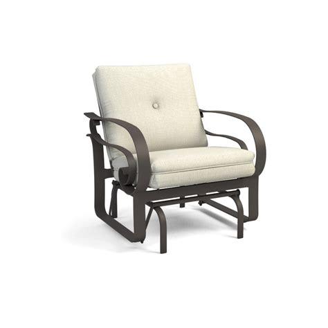 homecrest emory cushion sofa glider patio set hc emory set1