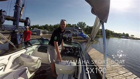 Yamaha Jet Boat Not Starting by 2017 Yamaha Sx190 Sport Boat Why Yamaha Is Not Your