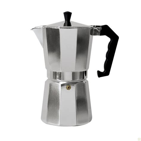 How to use an italian stovetop coffee maker. New 6 Cup Italian Espresso Stove Top Coffee Maker ...