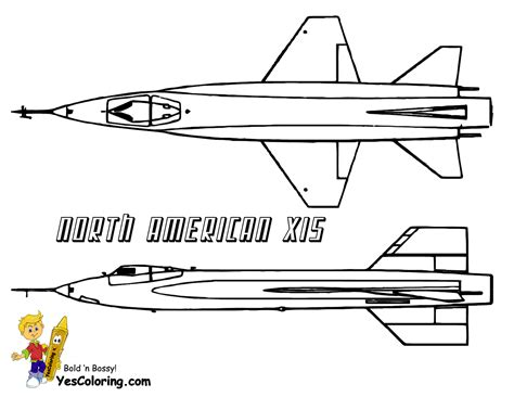 Super Mach Airplane Coloring Pages
