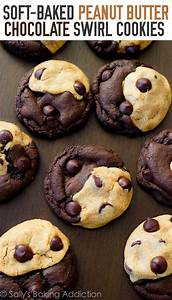how to make peanut butter chocolate chip cookies from scratch