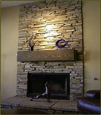 stone tile fireplace designs Best 25 Stacked Stone Fireplaces Ideas On Pinterest Within Fireplace Surround Designs 0 ...