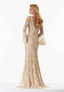 Boho Chic Prom Dress Made of Delicate Lace | Style 99022 ...