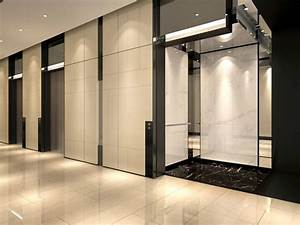 commercial office typical lobby interior design view 01 ...