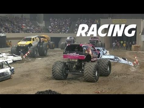 youtube monster trucks racing monster truck racing in billings mt march 2015 youtube