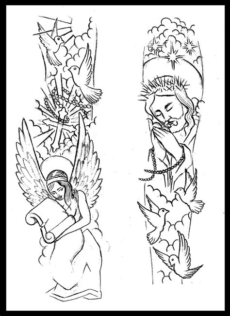 Religious Tattoo Drawing at GetDrawings.com | Free for personal use Religious Tattoo Drawing of
