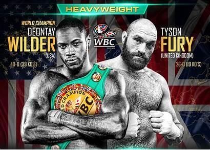 Fury Wilder Boxing Tyson Deontay Heavyweight Vs