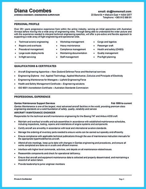 Aircraft Mechanic Cv by When You Want To Seek A In Aircraft Industry You Need
